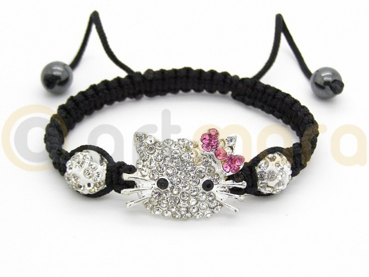 Bransoletka Hello Kitty CRYSTAL (BIZ100A)