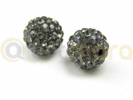 Kulka Shamballa BLACK DIAMOND 10mm RKO013