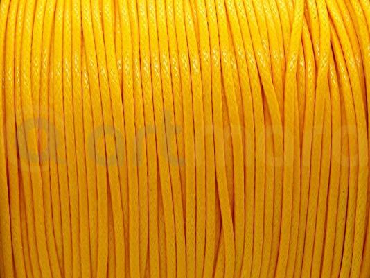 Sznurek ŻÓŁTY Shamballa 1mm 4m (RSZ03R)