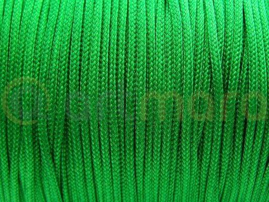 Sznurek ZIELONY Shamballa 1mm 6m (RSZ04E)