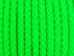 Rzemień pleciony 6mm ZIELONY 0,5m (RSZ07J)