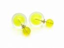Kolczyki KULE TRIBAL Żółty (BIZ133B)