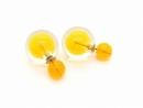 Kolczyki KULE TRIBAL Pomarańcz (BIZ133C)