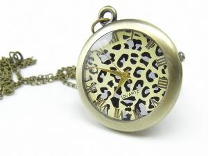 Naszyjnik zegarek PANTERKA (Z03)