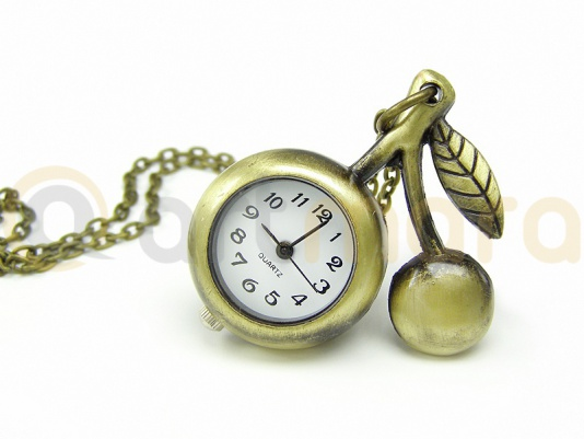 Naszyjnik zegarek WISIENKA (Z05)