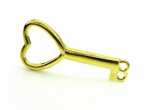 Łącznik KLUCZ złoty (RZW09B)