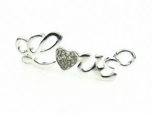 Łącznik LOVE miłość srebrny (RZW13A)