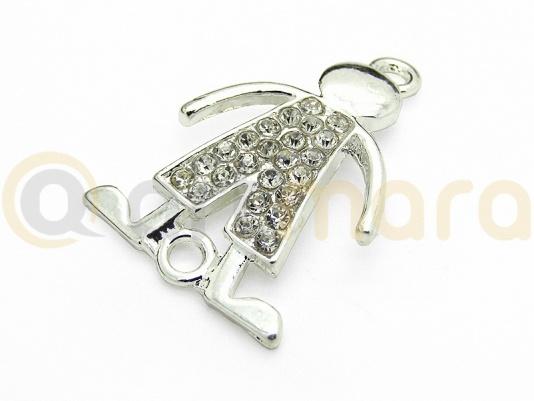 Łącznik CHŁOPIEC srebrny (RZW55A)