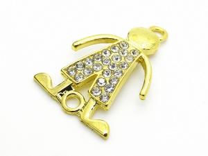 Łącznik CHŁOPIEC złoto (RZW55B)